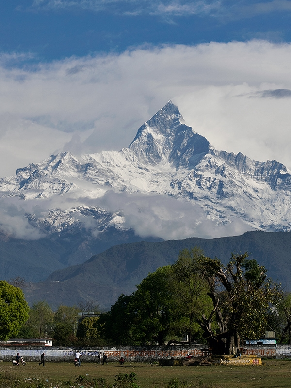 Fishtail Peak-Himalaya