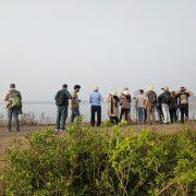 birders at uran cover 1 180x180 - Mumbai Birdwatchers' Club: Birding by the beach- Bhuigaon, Vasai