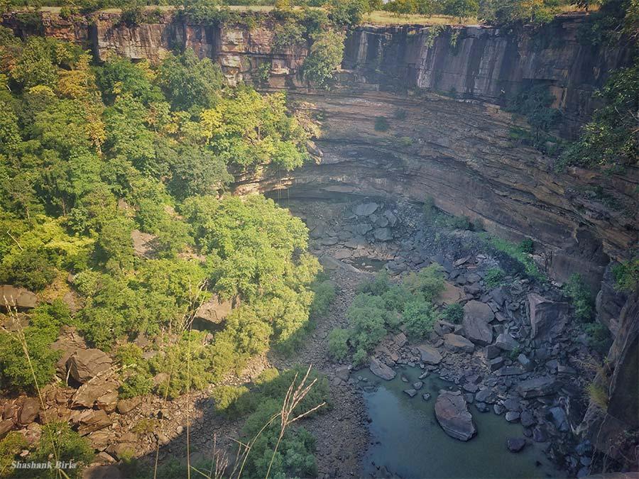 Panna gorge Vulture Point - Panna Tiger Reserve, Madhya Pradesh